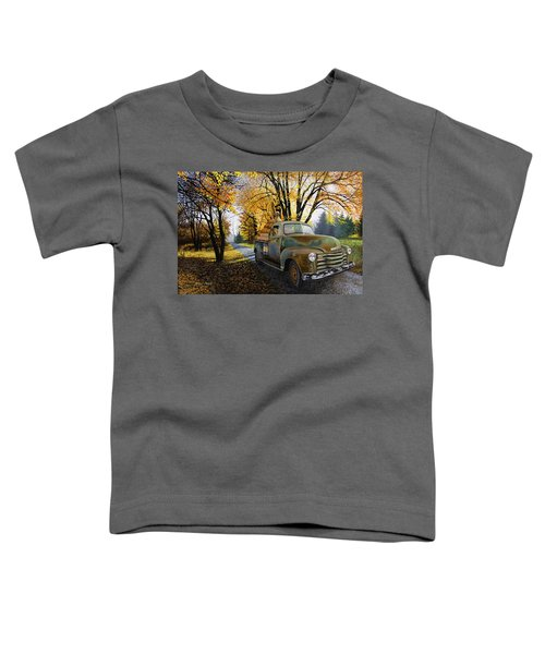 The Ol' Pumpkin Hauler Toddler T-Shirt