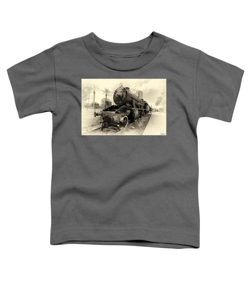 The Old Locomotive Toddler T-Shirt