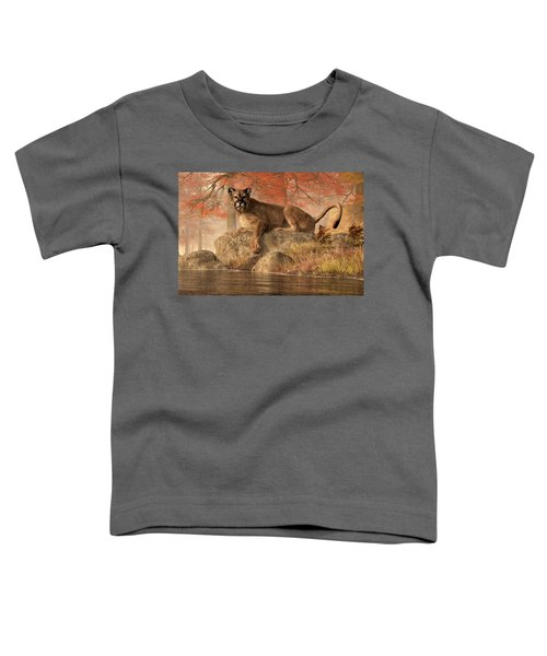 The Old Mountain Lion Toddler T-Shirt