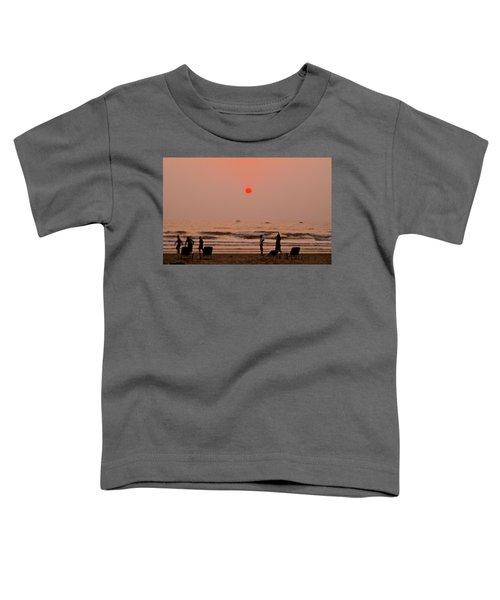 The Orange Moon Toddler T-Shirt