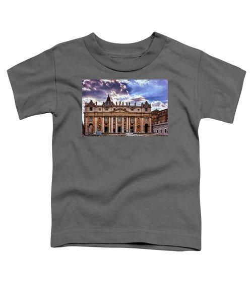 The Papal Basilica Of Saint Peter Toddler T-Shirt