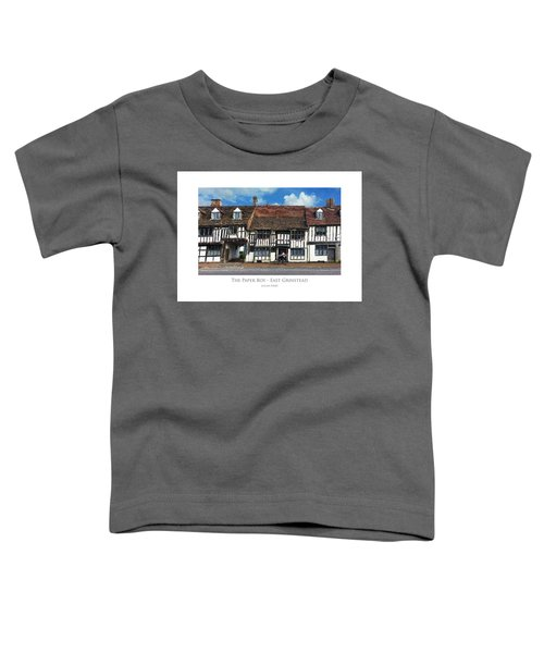 The Paper Boy - East Grinstead Toddler T-Shirt