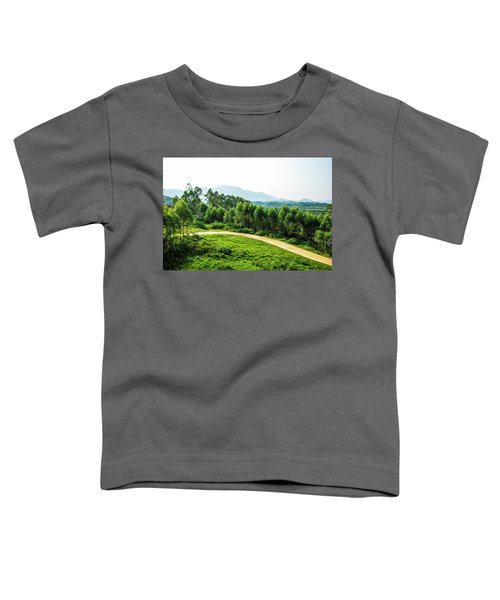 The Path In The Mountain Toddler T-Shirt