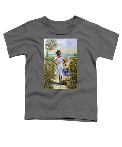 The Path To The Sea Toddler T-Shirt