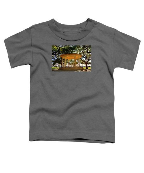 The Pavilion At Battery Park Charleston Sc  Toddler T-Shirt