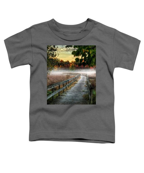 The Peaceful Path Toddler T-Shirt