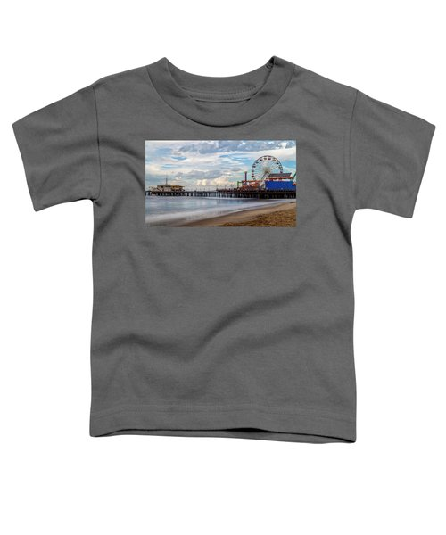The Pier On A Cloudy Day Toddler T-Shirt