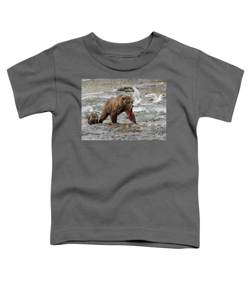 The Plight Of The Sockeye Toddler T-Shirt