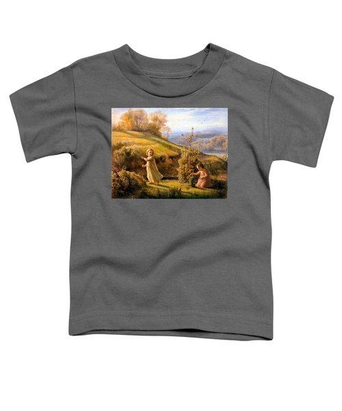 The Poem Of The Soul Spring Anne Francois Louis Janmot 1854. Toddler T-Shirt