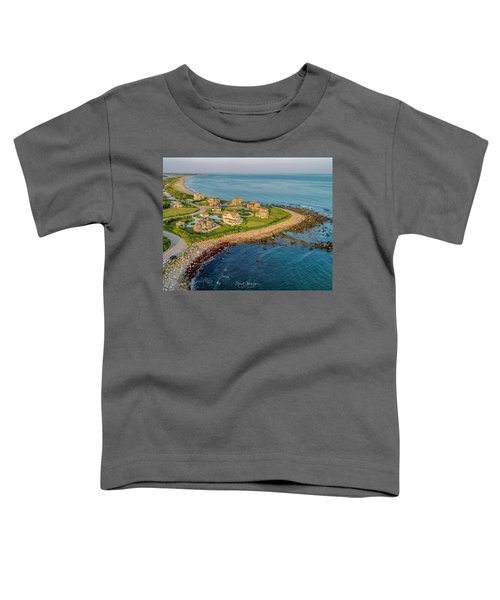 The Point At Weekapaug Toddler T-Shirt