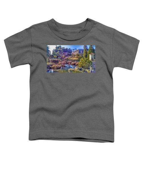 The Pond At Peddler's Village Toddler T-Shirt