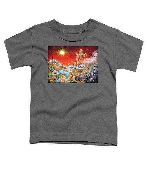 The Power Of Different Gods Toddler T-Shirt