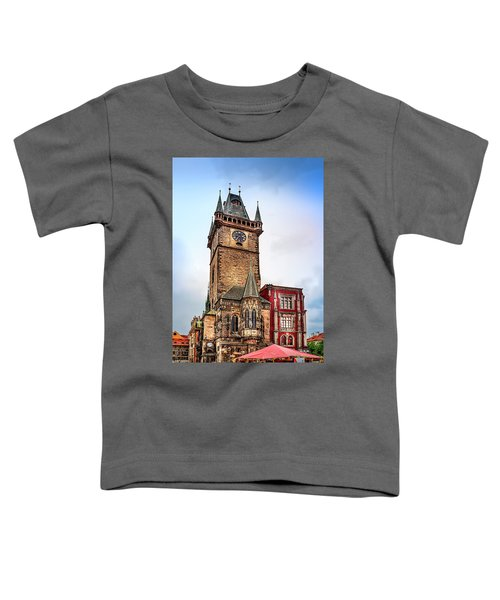 The Prague Clock Tower Toddler T-Shirt