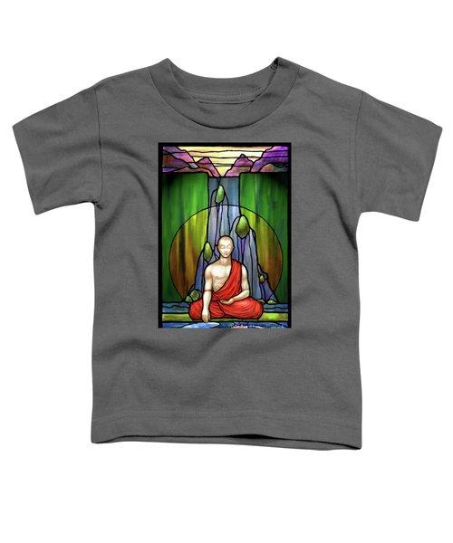 The Praying Monk Toddler T-Shirt