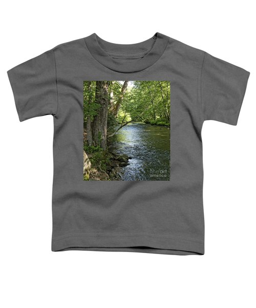 The Quiet Waters Flow Toddler T-Shirt