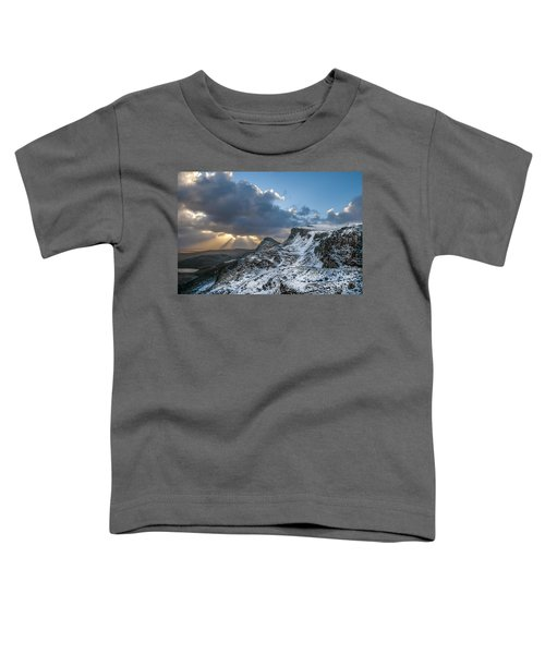 The Quiraing Just After Dawn Toddler T-Shirt