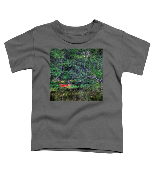 The Red Canoe Toddler T-Shirt