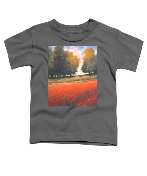 The Red Field #2 Toddler T-Shirt