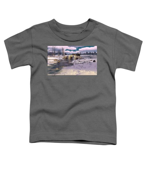 The Rhythm Of Frost Toddler T-Shirt