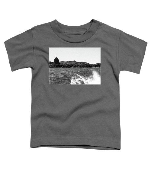 The Rock Of Guatape Toddler T-Shirt