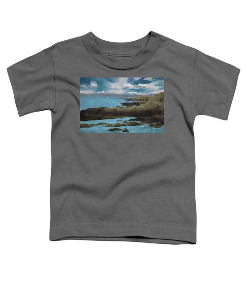 The Rocky Maine Coast. Toddler T-Shirt