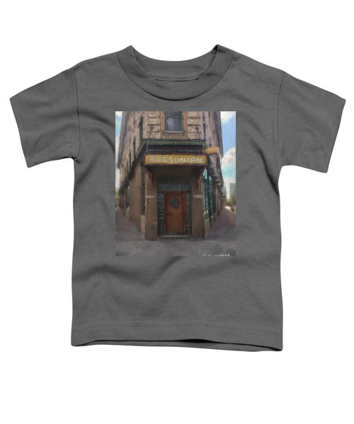 The Rossonian Toddler T-Shirt