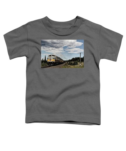The Royal Canadian Pacific  Toddler T-Shirt