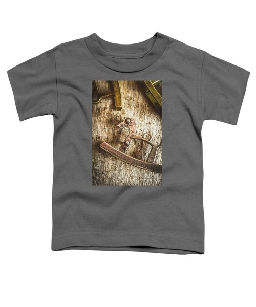 The Rusted Toy Horse Toddler T-Shirt