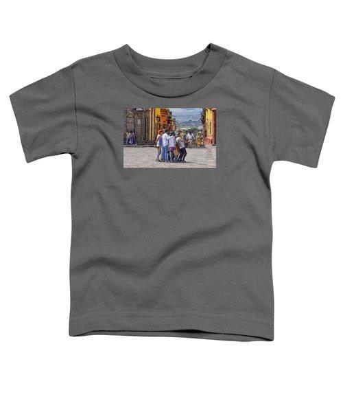 The San Miguel Selfie Toddler T-Shirt