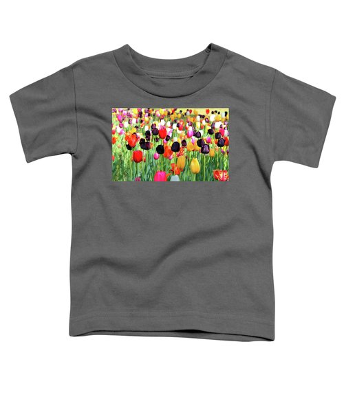 The Season Of Tulips Toddler T-Shirt