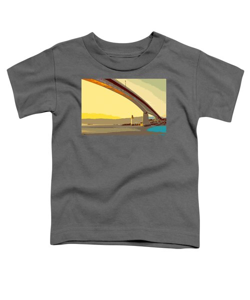The Skye Bridge And Kyleakin Lighthouse  Toddler T-Shirt