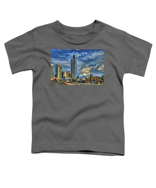 The Skyscraper And Low Clouds Dance Toddler T-Shirt