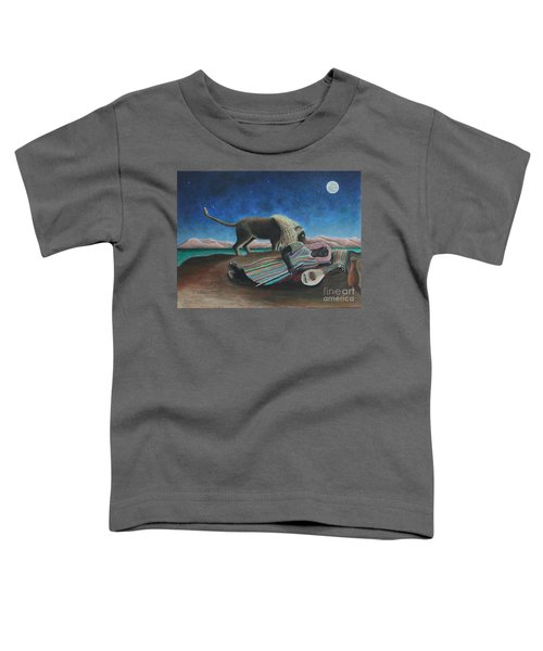 The Sleeping Gypsy  Toddler T-Shirt