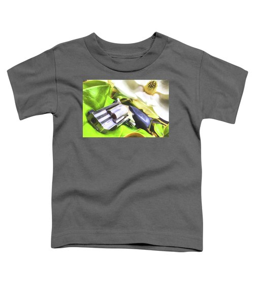 Toddler T-Shirt featuring the photograph The Southern Debutante  by JC Findley