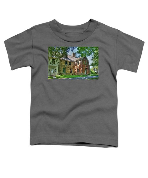 The Spencer-peirce-little House In Spring Toddler T-Shirt