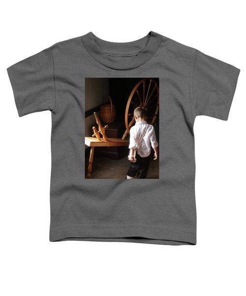 The Spinning Wheel Toddler T-Shirt