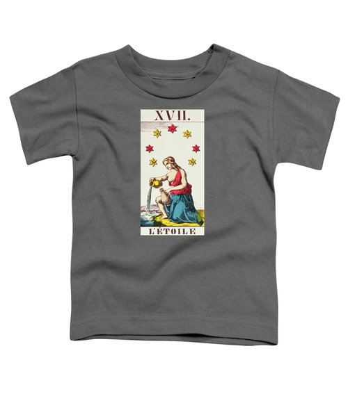 The Star  Tarot Card Toddler T-Shirt