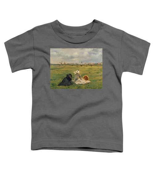 The Swallows Toddler T-Shirt by Edouard Manet