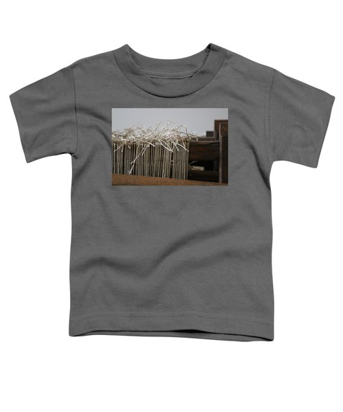 The Tales We Weave In Sepia Photograph Toddler T-Shirt