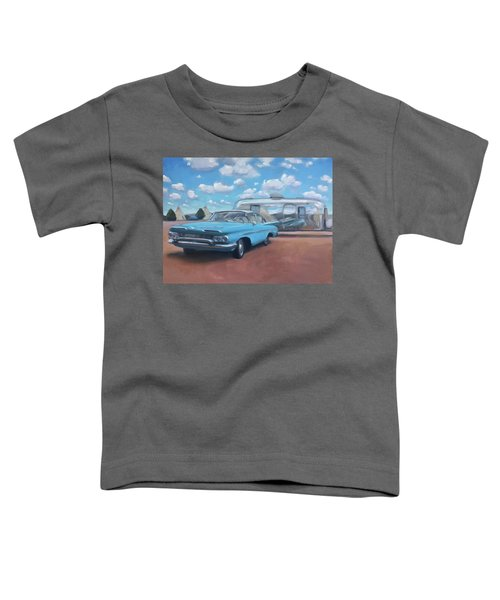 The Teepee Motel, Route 66 Toddler T-Shirt