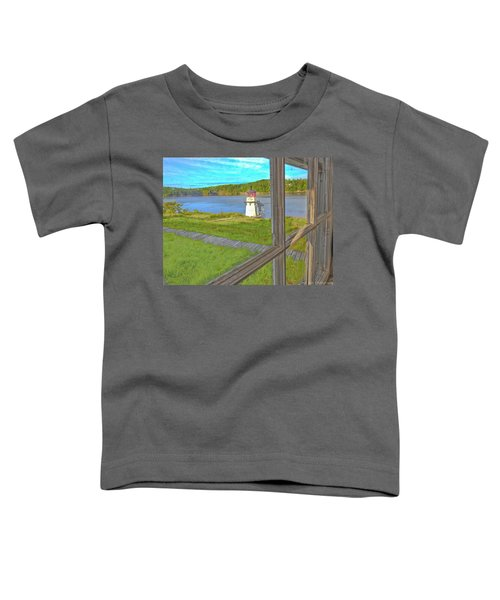 The Thin Line Between Real And Imagined Toddler T-Shirt