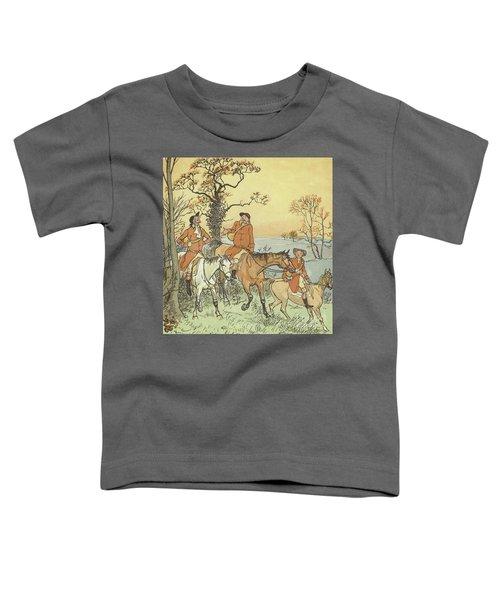 The Three Jovial Huntsmen Toddler T-Shirt