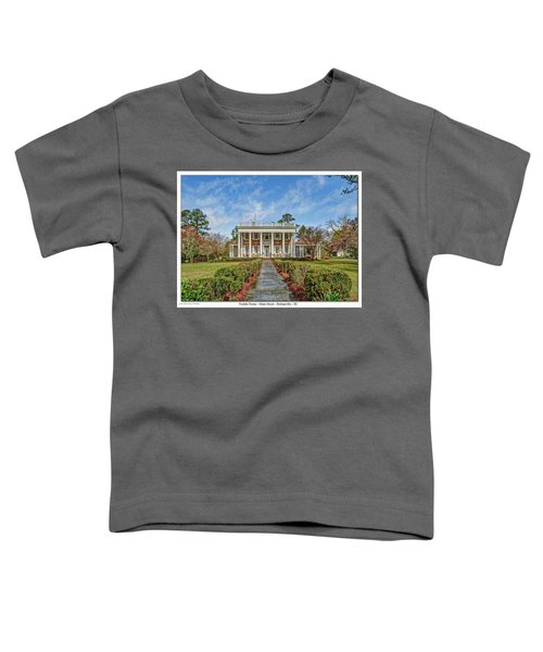 The Tisdale Manor Toddler T-Shirt