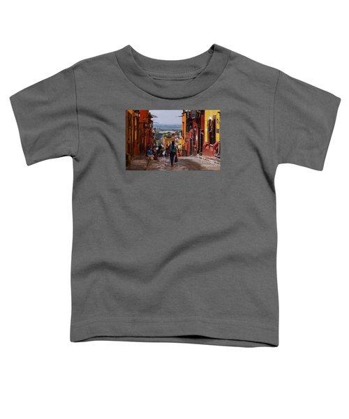 The Top Of Calle Umaran Toddler T-Shirt