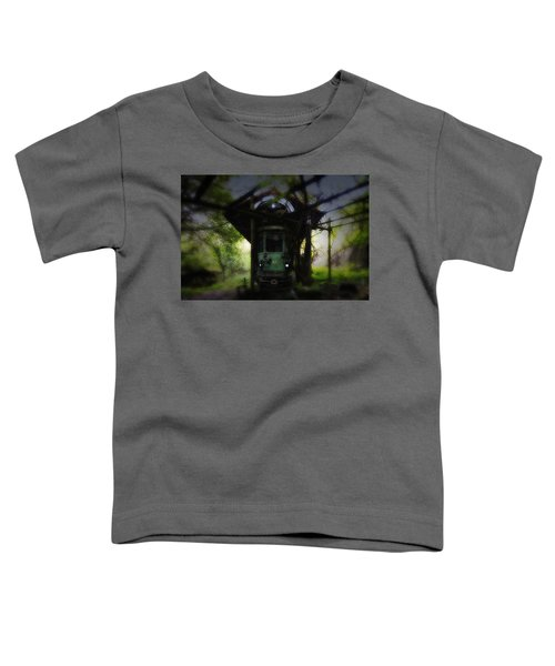 The Tram Leaves The Station... Toddler T-Shirt