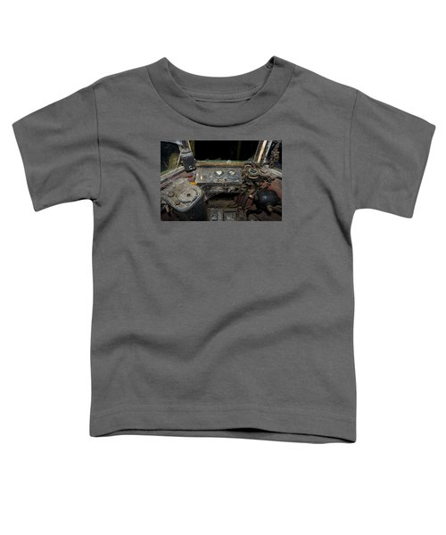 The Tram Leaves The Station... Instruments Toddler T-Shirt