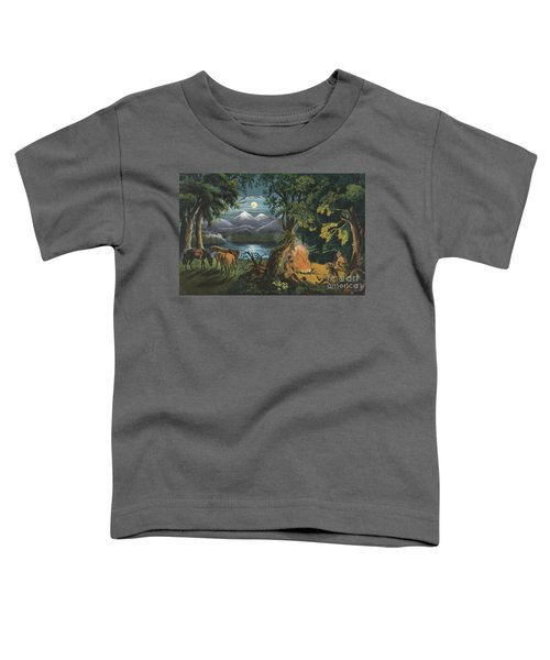 The Trappers Camp Fire Toddler T-Shirt