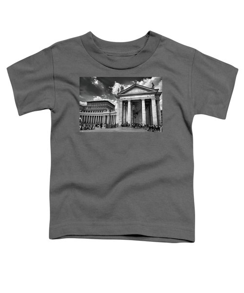 The Tuscan Colonnades In The Vatican Toddler T-Shirt
