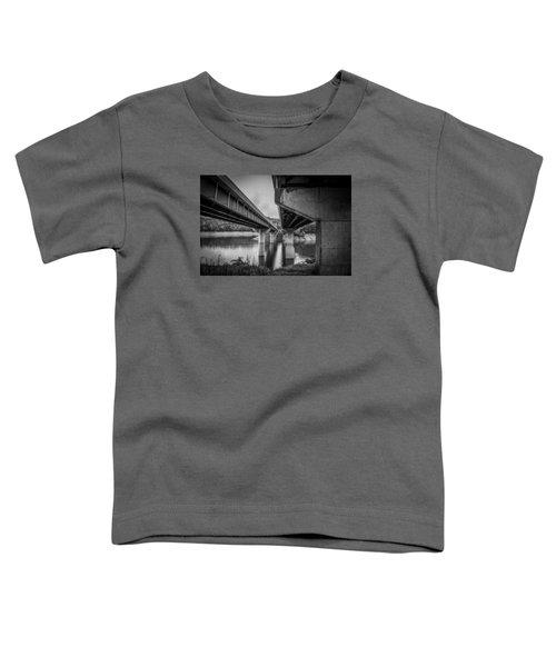 The Underside Of Two Bridges Toddler T-Shirt