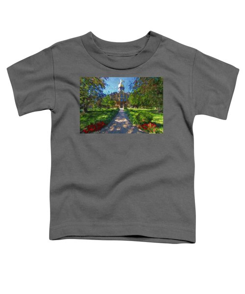 The University Of Notre Dame Toddler T-Shirt